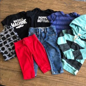 Other - Baby boys 7 piece bundle sizes 0-6 months